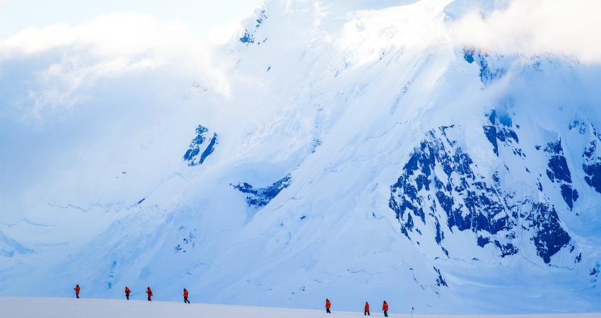 Горы в Антарктике