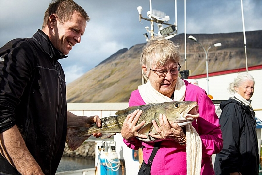 Исафьордюр рыба