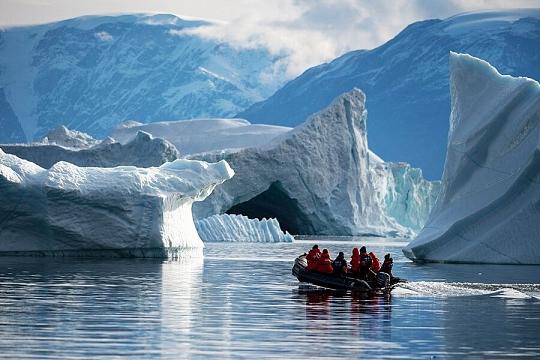 Восточная Гренландия ледники