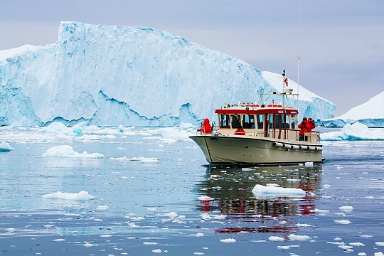 Западная Гренландия ледник