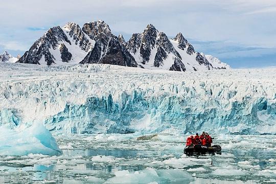 Шпицберген ледники