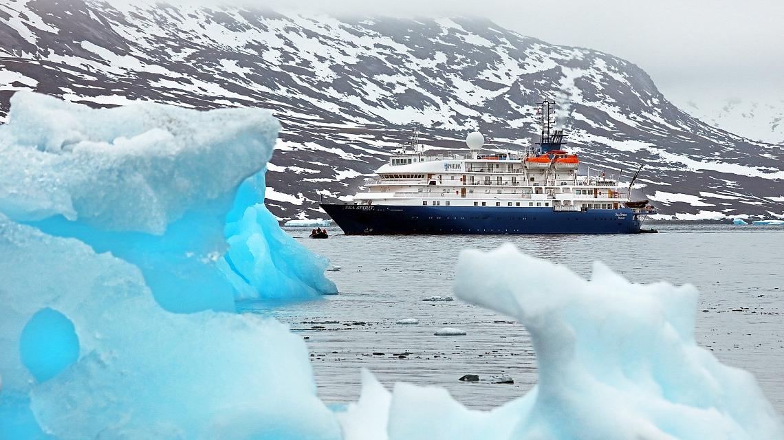 Западная Гренландия судно